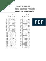 Respuestas MINISTERIO DE CÁRCEL Y PRISIÓN