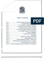 Pipeline Operations and Maintenance Manual