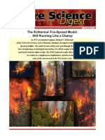 The Rothermel Fire-Spread Model