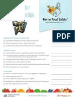 ADA005 Refrig Checklist