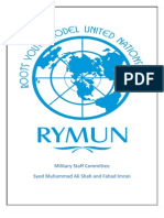 RYMUN Study Guide MSC