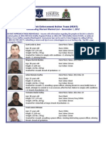 Wanted List November 1, 2012