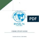 Unhrc Rymun 2012 Study Guide