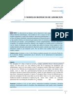Modelos Biofisicos de Absorcion