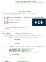 PNG 490 Data Input Program