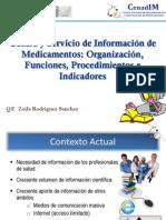 3. Servicio de Información de medicamentos y Tóxicos
