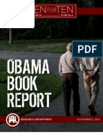 "The Obama Book Report - RNC ""Ten For Ten"" eBook Series"
