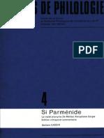 Si Parmenide