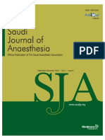 Evaluation of the Surgical Factor in PostoperativeSaudiJAnaesh