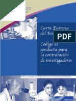 Carta Europea Del Investigador