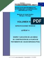 Volumen N° 06 - Especificaciones Técnicas Lote 4