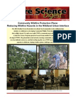 Community Wildfire Protection Plans