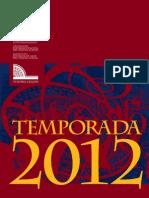 Teatro Colon - Guía Anual 2012