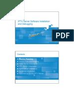 10 IPTV-BC-En-IPTV Server Software Installation and Debugging-1-PPT-201007(Draft) 66p