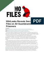 Gitmo Files Wiki Leaks