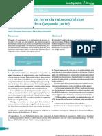 Enfermedades Mitocondriales II