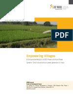Empowering Villages