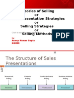 2 Theories of Selling