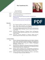 Rina Tannenbaum Resume October 2012