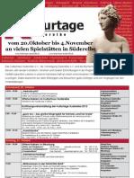 Flyer+Kulturtage 2012