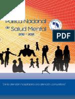 DM Politica Nacional de Salud Mental