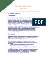 Guía clínica SDR neonatal