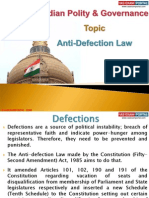 10(A) Anti-Defection Law
