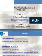 Infrastruktur Dan Pengembangan Wilayah