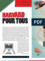 Harvard Pour Tous - Courrier International 1148 31 Octobre-7 Novembre 2012