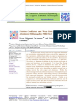Friction Coefficient and Wear Rate of Copper and Aluminum Sliding against Mild Steel