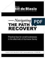Navigating the Path to Recovery - A Guide for Small Businesses from Public Advocate Bill de Blasio