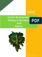 Carter Restaurants