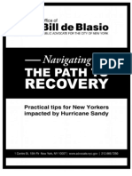Navigating the Path to Recovery - A Guide for Community Residents from Public Advocate Bill de Blasio