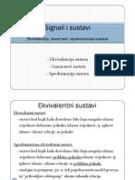 SIS 2010 Ekvivalencija Linearnost i Aproksimacija Sustava