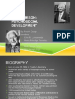 Erik Erikson Psychology