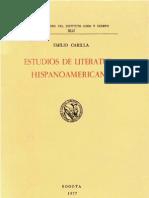 Emilio Carilla - Literatura Hispanoamericana Libro