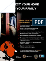 Home Safety Flyer