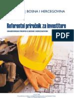 Referentni prirucnik za gradjevinske propise u BiH