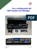 Instalar Programar MCP VRinsight v3