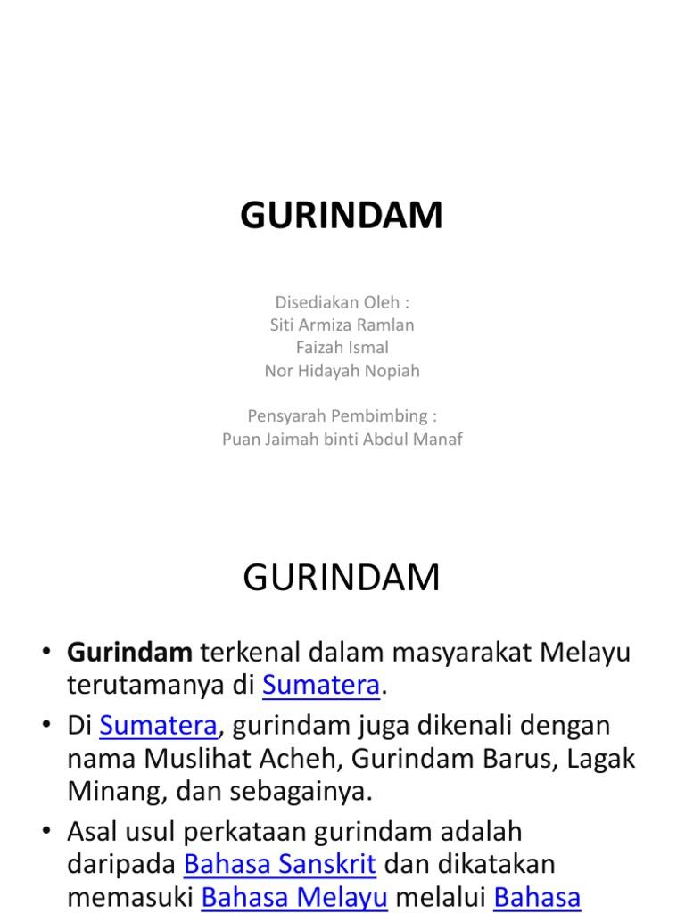 14 Gurindam