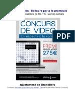 Projecte Concurs SP2012