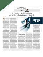 Las Casas Editoras No Deben Sucumbir a La Kriptonita Digital
