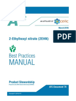 Best Practice Manual for Handling CI-0801 (2-ethylhexyl nitrate)