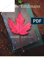 Eerdmans Fall 2012 Academic Catalog