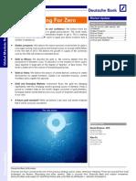 Gold Special Report Deutsche Bank September 2012