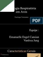Fisiologia Respiratória em Aves 2