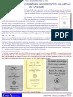 Análise Simbólica e Histórica do Fronstispíco do Manual do Aprendiz