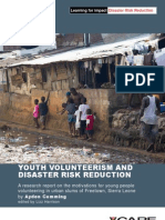 Youth Volunteerism and Disaster Risk Reduction by Ayden Cumming