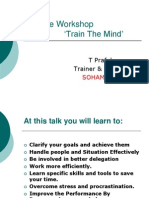 Mental Skills Training Methods Techniques