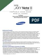T-Mobile T889 Galaxy Note II English User Manual UVLJ1 F7